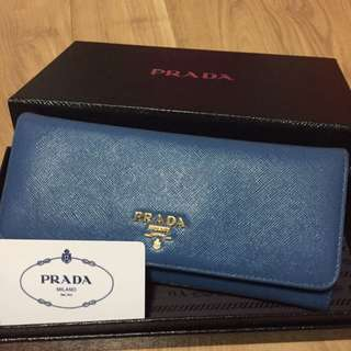 Reduced Price- 💯% Authentic Prada Saffiano Wallet
