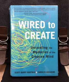 # Highly Recommended《Bran-New Hardcover + Discover The 10 Things Highly Creative People Do Differently》Scott Kaufman & Carolyn Gregoire - WIRED TO CREATE : UNRAVELING THE MYSTERIES OF THE CREATIVE MIND