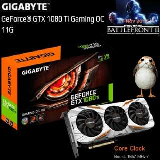 Gigabyte GTX 1080 Ti Gaming OC 11G GeForce®..