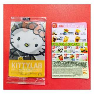 Collectible Hello Kitty Lab Card