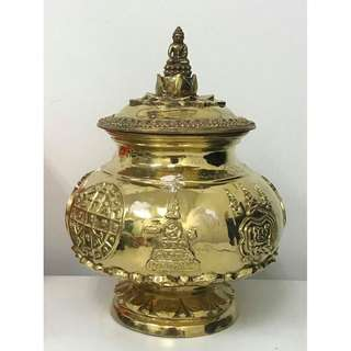 LP Kloy of Wat PuKowThong BE2556 Super Rare Phra Kring ButNumBoon