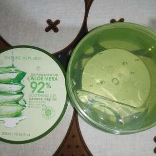 Sooting Gel Aloe Vera 92 %Original 300ml