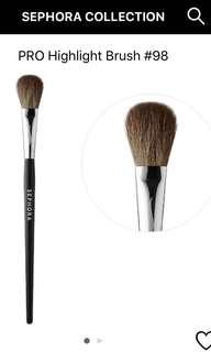 Sephora highlight brush #98