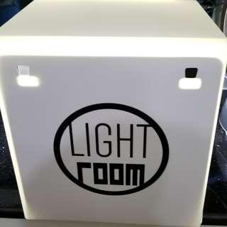 迷你小型攝影棚 LED攝影棚套裝 拍照燈箱