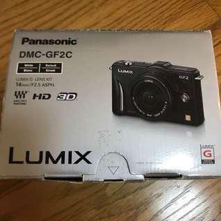 🚚 Panasonic Lumix DMC-GF2 + 14mm(鋼琴白)