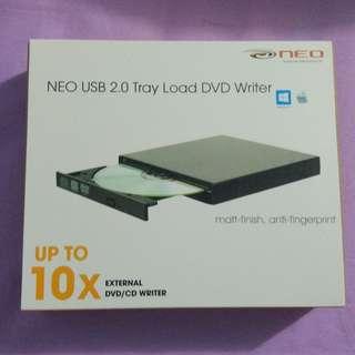 External USB 2.0 Tray Load DVD Writer