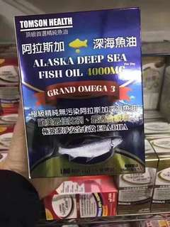 (全球最高含量4000mg) 美國🇺🇸TOMSON HEALTH深海魚油丸100粒 ❤️今天入數 最快明天 最遲後天寄出❤️ (包本地平郵 買家承擔寄失/損毀風險) 寄出前 會影相證明 -可加$10 順豐站自取 不設面交 NO FACE TRADE