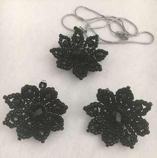 Earrings & Pendant Necklace