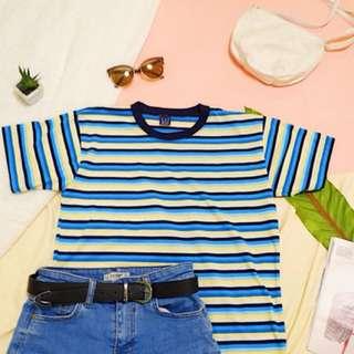 Oversized Stripes Shirt