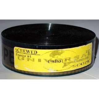 Screwed ~ 35mm Movie Film Cels / Trailer 2000 - Dave Chappelle (Free Postage)