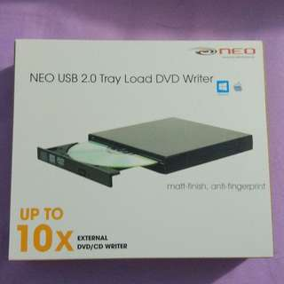 External USB 2.0 Tray Load DVD Writer