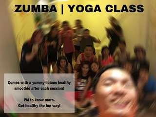 Zumba | Yoga Class