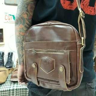 Sling Bags Brown