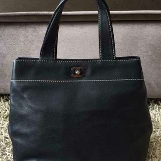 Authentic Chanel Executive Cert Tote Medium