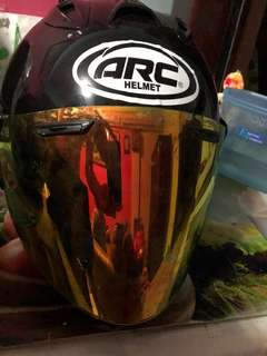 Tsr helmet w Arc sticker