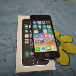 IPhone 5S 32GB Space Gray 4GLTE fullset FU