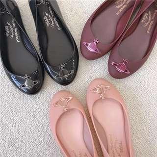 正品✨Vivienne Westwood x Melissa 春季款平底鞋