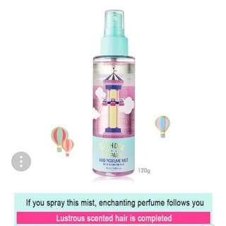 🍑SMELL LIKE PEACHES ALL DAY LONG!!!🍑Etude Wonder Park Hair Fragrance Mist