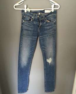 Rag and Bone Aritzia denim Size 26