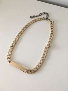 Gold Plated ID Necklace