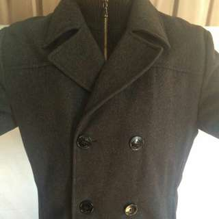 Men's Double Breasted Wool
