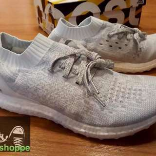 Adidas Ultraboost Uncaged White Grey Silver