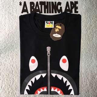 BAPE SHARK L/S TEE