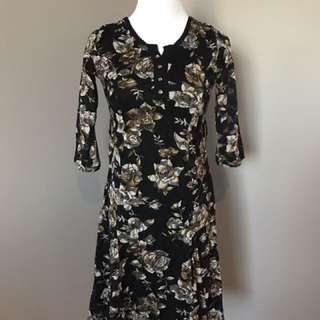 Love Moschino vintage floral print dress