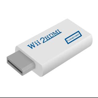 Wii - HDMI adapter