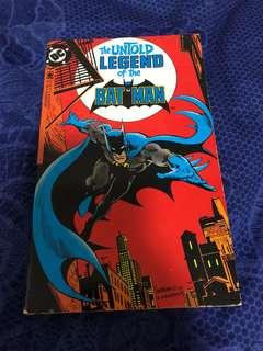 The untold legend of batman