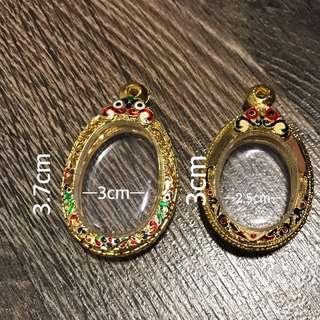 Amulet casing