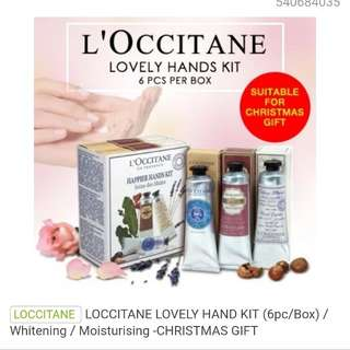 Loccitane Lovely Hand Kit (6pc/box)