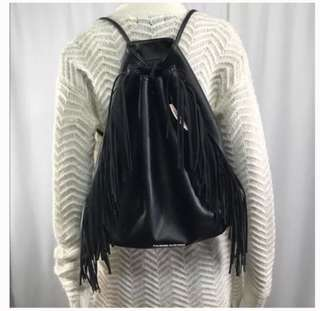 Fringe backpack// Victoria secret