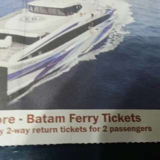 Ferry tickets to Batam