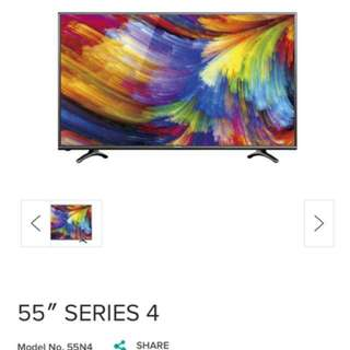 "Hisense 55"" LED LCD SMART TV"