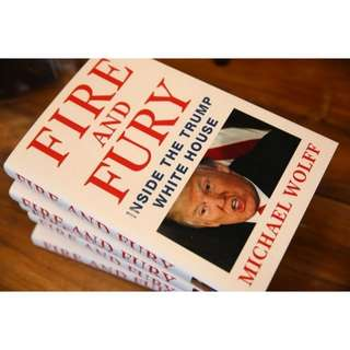 Brand New - Fire & Fury: Inside the Trump White House by Michael Wolff - Paperback