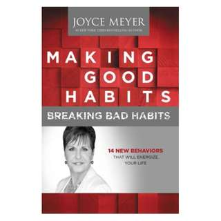 [eBook] Making Good Habits, Breaking Bad Habits - Joyce Meyer