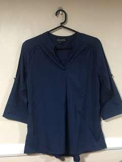 Blouse (dark blue)