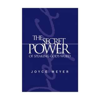 [eBook] The Secret Power of Speaking God's Word - Joyce Meyer