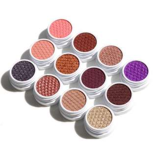 Colourpop Eyeshadow - 6 colours