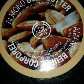 The Bodyshop Almond Body Butter (200ml)x2