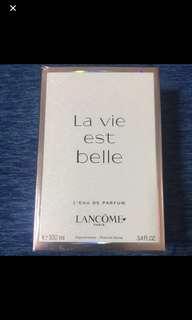Authentic BNIB Lancôme La Vie Est belle 100ML.