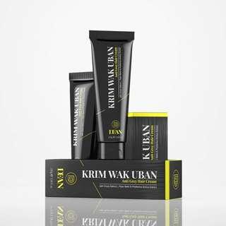 DEAN Krim Wak Uban Anti Grey Hair Cream - 100gm