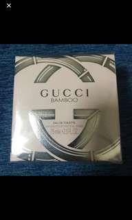 BNIB Authentic Gucci Bamboo 75ML