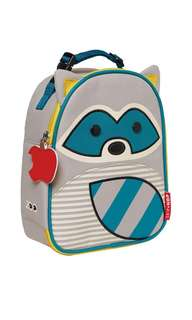 BNWT Skip Hop Zoo Lunchie Insulated Kids Lunch Bag - Racoon