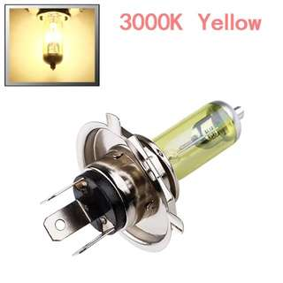 2pcs H4(yellow) Fog Halogen Bulb 55W Car Head Lamp Light