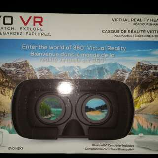 EVO VR - Virtual Reality Headset for your smart phone