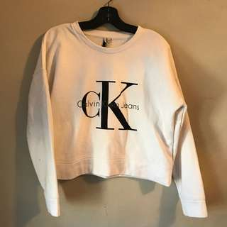 Calvin Klein Women's Sweatshirt - Large Urban Outfitters