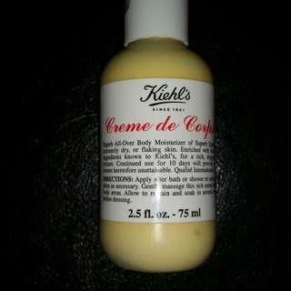 Kiehl's Creme de Corps All-over Body Moisturizer  (travel size)