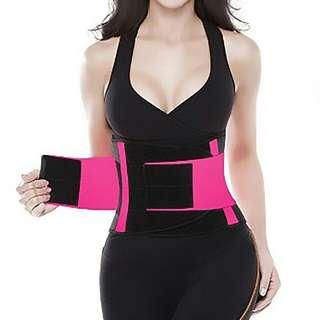 Exercise waist trainer belt